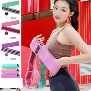 Yoga Gurt Leg Shaper Gürtel Startseite Tief Squat Resistance Band nicht Beleg Fitness Beine Muskeltraining Kolben-Expander-Gurt KKA7812