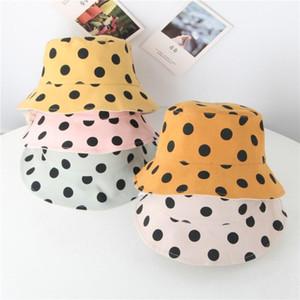 Moda Çocuk Dalga Noktası Güneş Güneş kremi Beyzbol Şapka Cap Bebek Bebek Şapka Boy Kız Sıcak Aksesuar Çocuk Cap tutun
