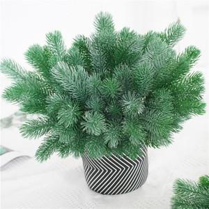 Falso Pino Albero di natale Ago Artificial Plant Fiore Branch accessori della decorazione DIY Bouquet regalo XD23280