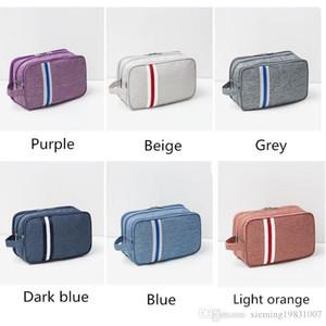 Hot Travel Double-layer Polyester Wash Waterproof Digital Bag Fitness Swimming Organizer Cosmetics Storage Bag YW-124CN