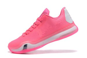 Zoom X Think Pink Mamba 10 Men Basketball Shoes For sale With Box Best Mamba10 pink blue Shoes Free Shipping With Box Size40-46