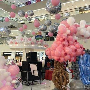 Thicken 36 inch Colorful Round Big Latex Balloons Helium Inflable Blow up Giant Balloon Wedding Birthday Party Large Balloon Decoration