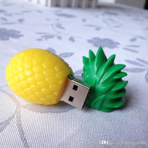 Real Capacity New Pineapple Fruit USB Flash Drive 16GB~64GB Usb Memory Stick Disk Pendriv