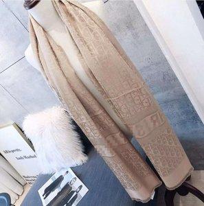 womens Scarf Fashion designers women Classic Cotton Scarf Warm Soft Tassel fashion size 180x70cm Women Long Shawl Wrap Scarves Gìvênchy