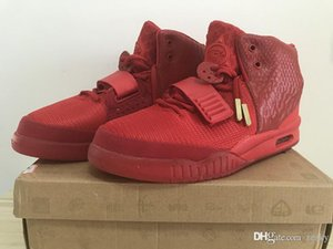 boost350v22019 news Designer Shoes Kanye West 2 Basketball Shoes for Mens luxury Sports shoes Red October Training Sneakers S