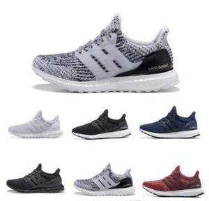 Hohe Qualität Ultraboost 3.0 4.0 Laufschuhe Männer Frauen Ultra Boost 3.0 III PRIMEKNIT Läuft White Black Sports Sneaker 36-45