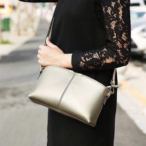 Mini Leather Women Bag Black Clutch Square Small Genuine Handbag Messenger Fashion Ladies Hands Bags Shoulder Llorp Little Xtbgi