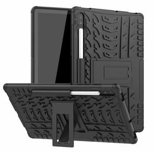 Samsung Galaxy Tab S6 T860 10.5 için Samsung T860 Kılıf Sıcak Sert Plastik TPU Combo Zırh Parantez Koruyucu Kapak Kılıf için