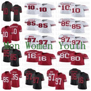 San men women youth 10 Jimmy Garoppolo Francisco