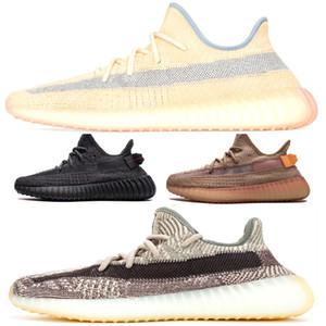 Uomini Designer 700 v2 Scarpe Kanye West Asriel Israfil corridore dell'onda Lino riflettente Zyon Cinder Fanale posteriore salvia del deserto Terra scarpe da ginnastica nere