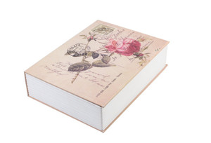 الأكواد قفل صندوق ودائع آمن محاكاة كتاب الكلاسيكية روز السلامة الخفية حالة الأصالة سيارة خزان الساخن بيع 31 5skb1