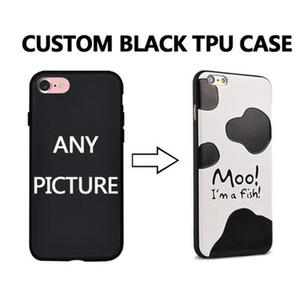 Customized Custom Made DIY Photo Picture TPU Black Phone Case Capa Qualquer Design for iPhone 11 11Pro 11 Pro max para iPhone X
