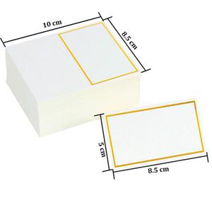 Platzkarten Hochzeit Dekoration Tischdekoration Tabelle Name Nachricht Grußkarte Ereignis Party Supplies Sitzplatz-Karte