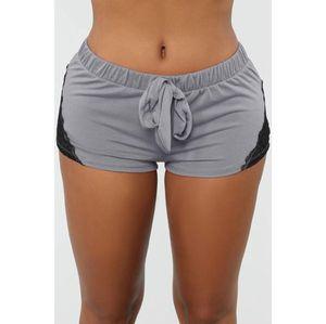 Été Shorts Casual femmes Fit solide Shorts Loose Women taille élastique respirant leggings mode en dentelle Shorts de sport