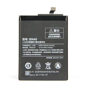4000mAh BN40 Lithium-Ionen-Batterie Ersatz-Telefon für Redmi 4 Pro Prime 3G RAM 32G ROM Ausgabe Redrice4