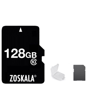 DHL 100% original Zoskala Micro SD Card 16GB 32GB 64GB Classe 10 Real Capacidade MicroSD Card 1G 2GB 4GB 8GB Classe 6 Memória TF C10 Cartão