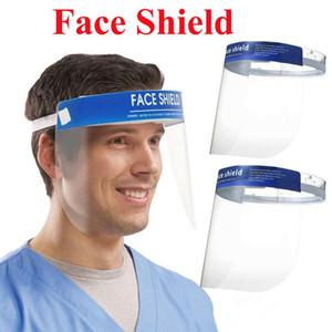 Anti-Fog Face Shield Full Face Masken Isolation Transparent Schutz Maske Visier Schutzgesichtsschutz Schutzmaske CCA12006