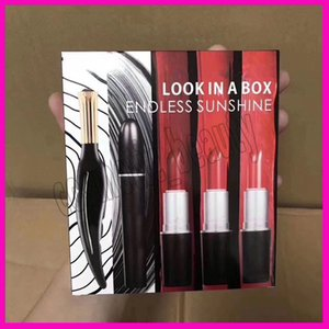 2019 New Makeup Set Look in einer Box Endloser Sonnenschein Eyeliner Mascara Matte Lippenstift 5 in1 Sets