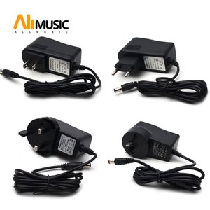 US EU AU UK Plug AC 110-240V DC 9V 800MAH Electric Guitar Stompbox Power Supply Adapter For Guitar Effect Pedal Board