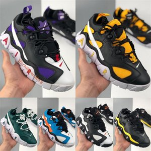 Fashion Barrage Low Basketball Shoes For Men 2020 Classic Black Purple Yellow Green Pink Blast Racer Blue Mens Sports Shoes Size 40-45