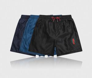 2020 mens shorts de praia luxo clássico designers de calças de verão impressão digital selvagem de secagem rápida grandes calções de banho tamanho beira-mar