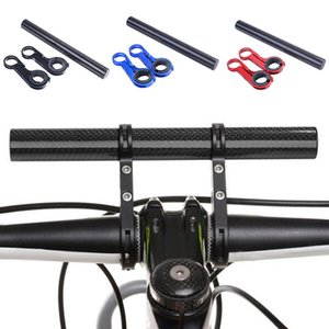 New Carbon Tube Bike Holder Handle Bar Bicycle Accessories Extender Mount Bracket 3 Colors