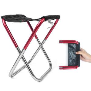 Silla plegable mini portable al aire libre Pesca Stool ligero camping Asiento compacto