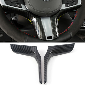 Car Accessories Steering Wheel Panel Cover Frame Sticker Trim ABS Carbon Interior Decoration for BMW X3 G01 X4 G02 2018-2020