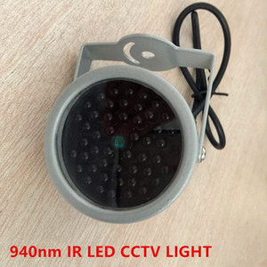 940nm ir led إضاءة الأمن 48 قطع invivle infrared led ل للرؤية الليلية مراقبة cctv كاميرا ملء ضوء