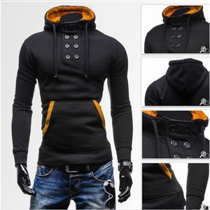 Men The New Hoodie Spring Style Men's Hoodie Casual Classic Men's Wear Tops Pure Pullovers