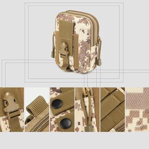 Tactical Pouch Belt Waist Bag Fanny Pack Outdoor Case For Women Men Phone Pouches 12*17.5*6CM Pocket R0T0
