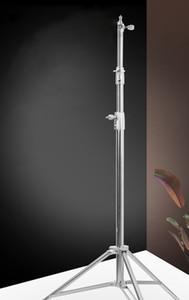 acessórios de fotografia 2.8M tripé Luz de alumínio Suporte para estúdio Flash Light suporte da lâmpada titular estande luz venda de fábrica
