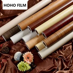 SUNICE Adesivo Decoração Móveis Renovação vinil PVC Madeira Grain Vinyl Waterproof Porta de madeira efeito da grão