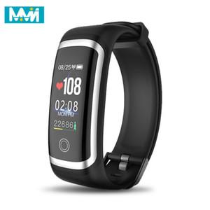 MMN Smart Armband M4 Smart-Puls-Monitor-Armband Kalorien Wasserdicht IP67 Smart-Band-Mode-Uhr für iOS und Android