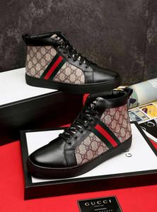 Toptan Kalite Tasarımcılar Super G Erkekler Kadınlar Casual Ayakkabı Spor Ayakkabı Flats Elişi Dantel-up Beyaz Ayakkabı Box 38-45 ile Real Deri Ayakkabı