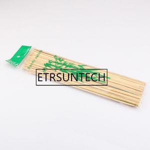 30 * 0.3cm Doğal Bambu Şiş barbekü Barbeque Meyve Kabob Kebap Fondü Izgara Çubuk Skewer Sticks