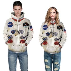 Big Size mens designer hoodies for Women NASA Spring 3D Autumn Casual Hoodies Sweatshirts Trendy Printed Hoodie Couples Hoodie Drop Shipping