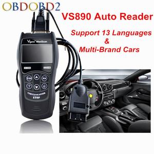 Best Price Vgate VS890 Car Diagnostic Tool Multi-language VS 890 OBD2 Automobile Scanner Maxiscan Vgate VS-890 OBDII Scan Tool