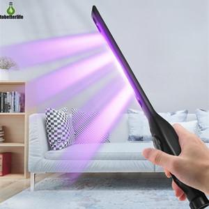 2W Портативный ультрафиолетовый стерилизатор UV Lamp Light USB аккумуляторная UVC Бактерицидные лампы Ручной Дезинфекция Бактерицидные фонарик