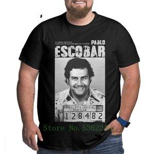 Pablo Escobar camiseta de la mafia Scareface Luciano Capon camiseta Ropa de Hombre T grande Alto camiseta grande del algodón más el tamaño 4x 5x 6x