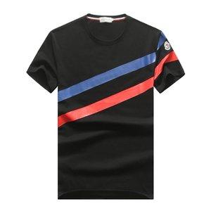 2020New Mens Summer Tees Plus Size O-neck Short Sleeve T Shirt Milk Printed Cotton T-shirt 3D Desig