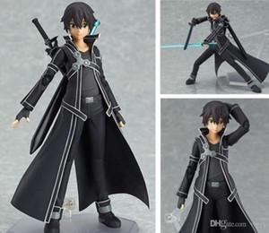 15 centimetri SAO Sword Art Online Kirigaya Kazuto Kirito Figma di azione PVC Figure # 174 in scatola regalo di nuovo