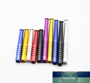 Aluminum Alloy Torch Appearance Pipes High Quality Tobacco Pipe Wholesale Smoking Pipe Length