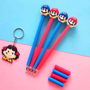48 pcs Super Marie Mario Gel Pen Signature Pen Escolar Papelaria School Office Supply Promotional Gift