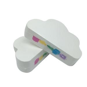 Rainbow nuvem sal óleo essencial banho bola bolha exfoliante hidratante cuidados com a pele adereços natural banho de espuma bombas bola nova