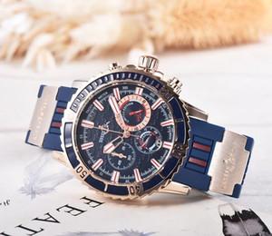 2020 무료 배송 모든 범죄 시계 쿼츠 시계 다이얼 작업, 레저, 패션 시계