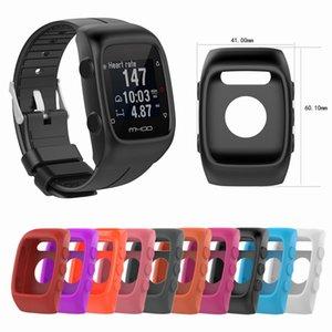 mart Zubehör Silikon-Abdeckung für Polar M430 / M400 Polar Smart Watch laufende Sport-GPS-Schirm Fall Ersatz-Schutz Rahmen Accesso ...