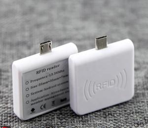 안드로이드 휴대폰 RFID 리더 USB OTG 전원 공급 장치 미니 초소형 휴대용 5sets에 대한 ISO14443A HF 13.56MHz의 스마트 IC 카드 리더