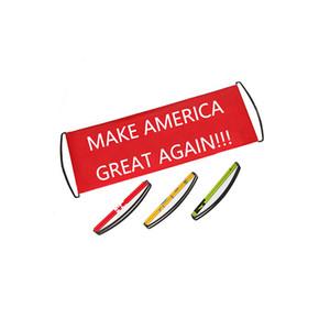 Два цвета 24x70cm ПЭТ Материал Марка American Great Опять рука Scrolling Banner Held / Pop Up Баннер / Выдвижной Баннер Односторонняя печать