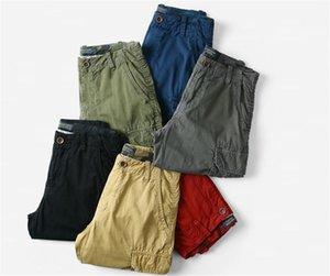Mens-Sommer-Designer Shorts Hosen Reißverschluss Relaxed lose Kleidung Knielänge Fashion Casual Male Kleidung